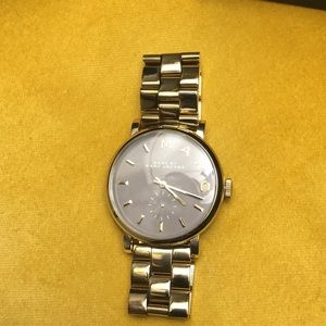 Marc Jacobs gold wristwatch in excellent conditio